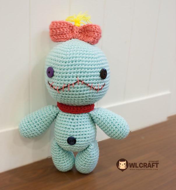 Free Amigurumi Scrump Pattern : PDF Pattern Scrump Doll Lilo & Stitch on Luulla